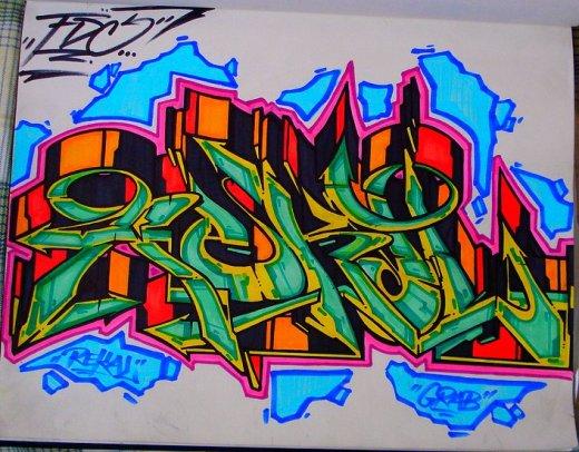 Rekal sketch by Grab