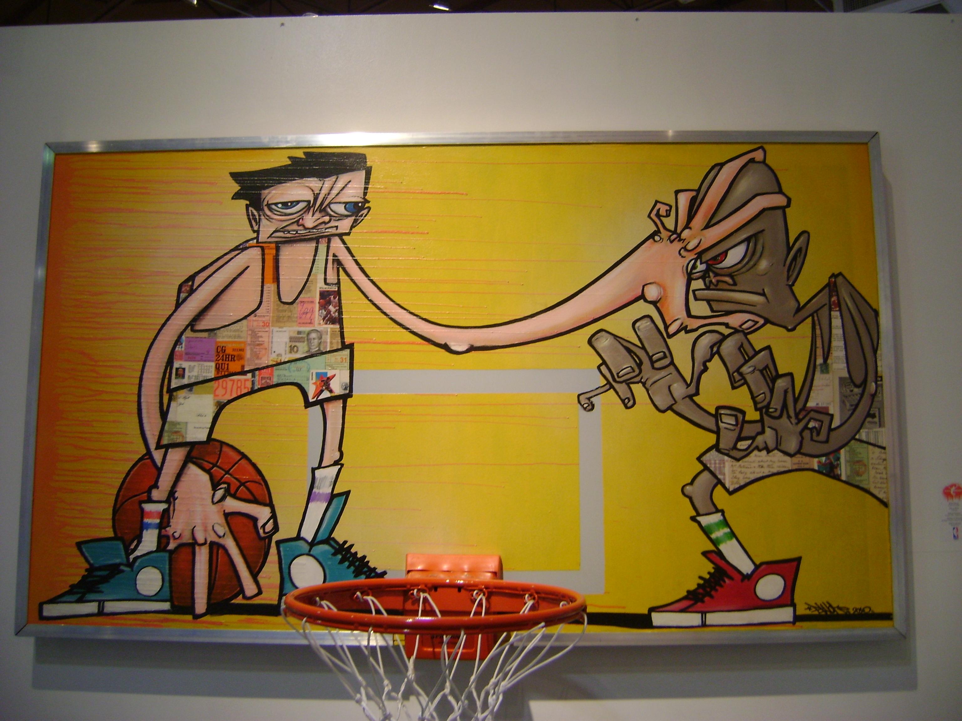 "The NBA presents ""The Art Of Basketball"" Miami Art Basel 2010 |"