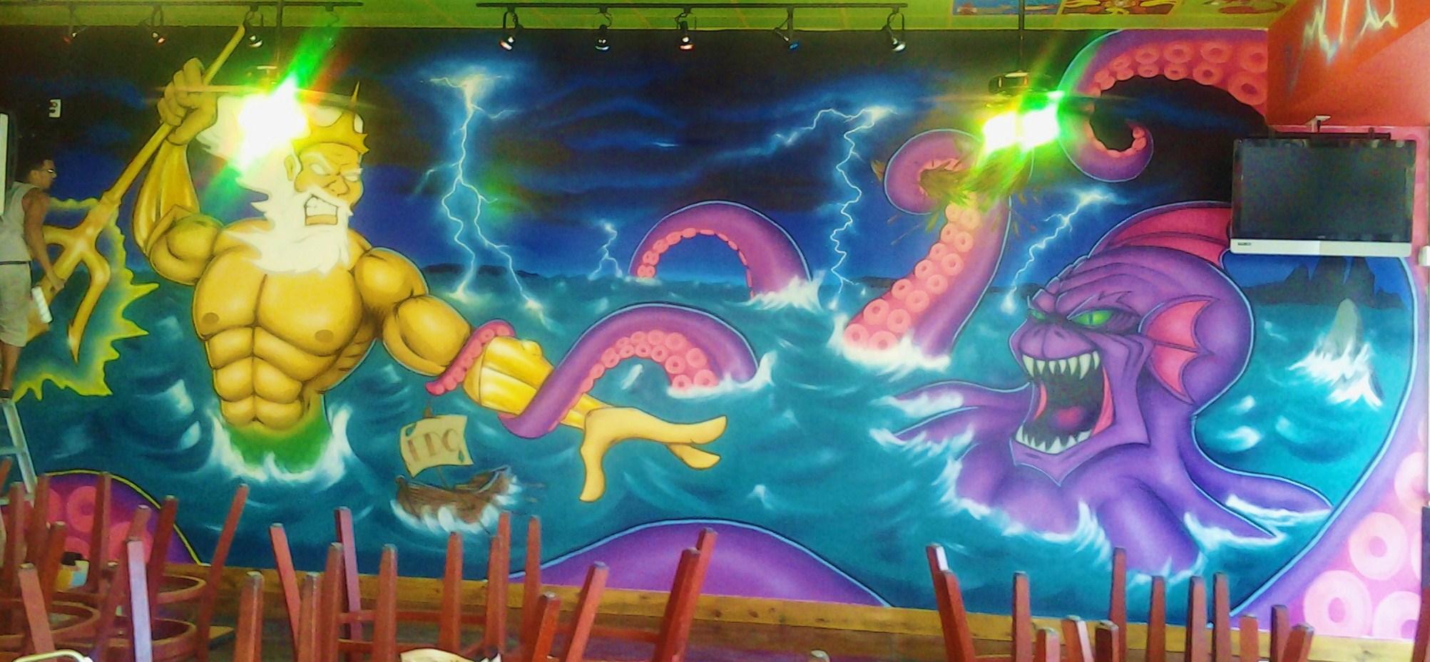 poseidon vs the kraken - photo #13
