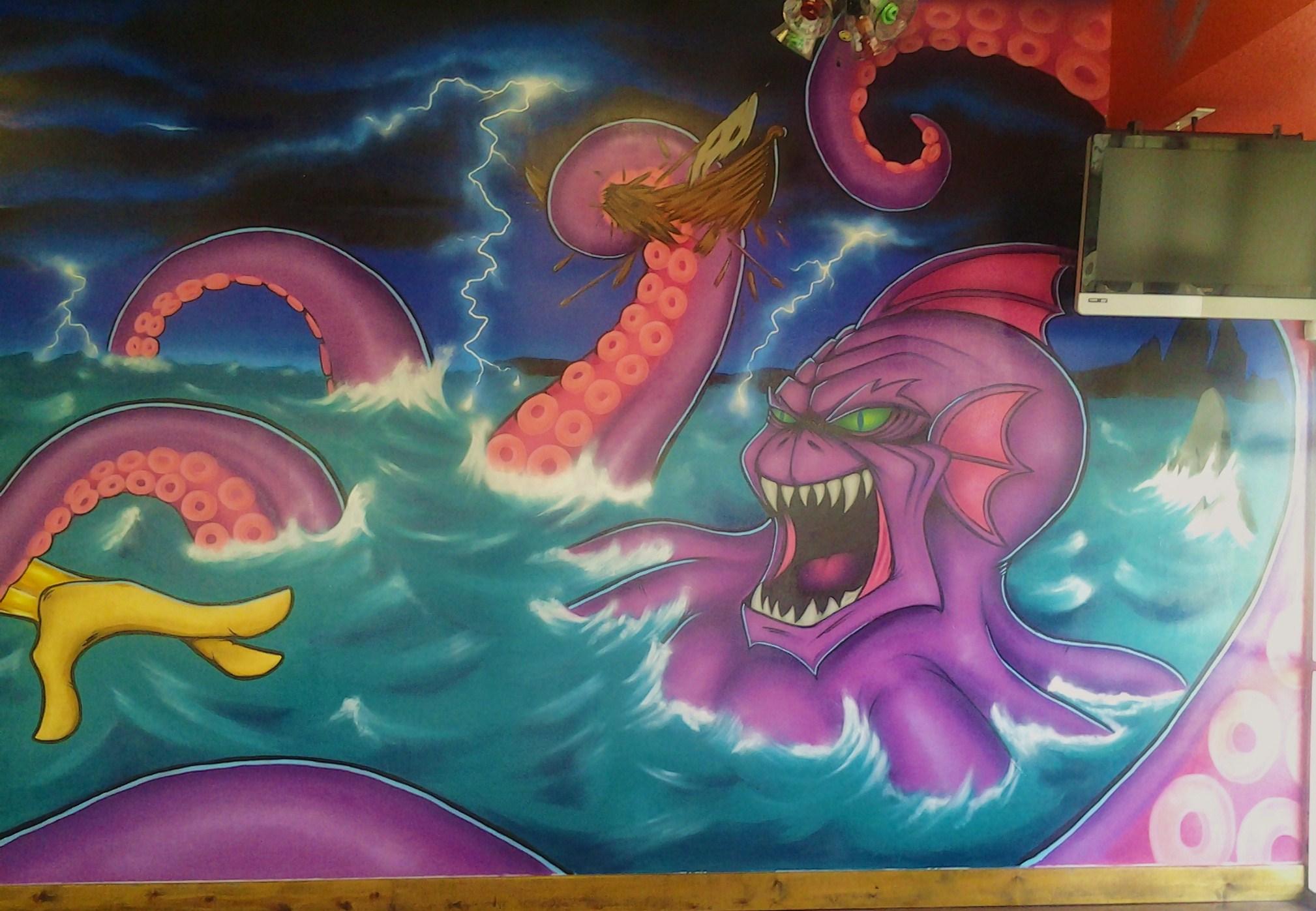 poseidon vs the kraken - photo #7