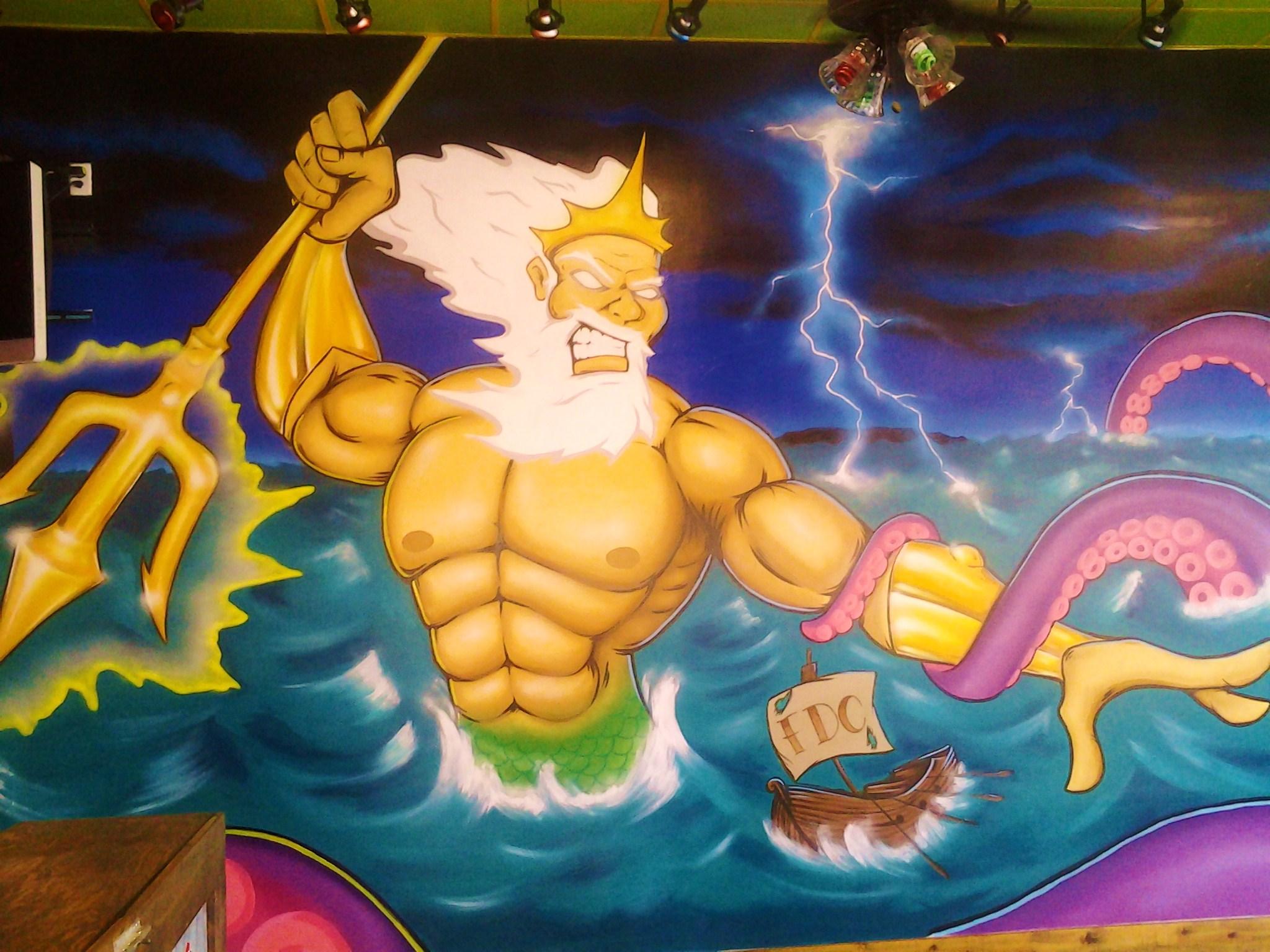 poseidon vs the kraken - photo #9